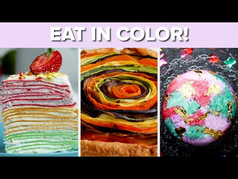 Recipes For When You Want To Eat In Color