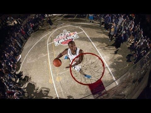 1v1 basketball on Alcatraz - Red Bull King of the Rock Finals 2013
