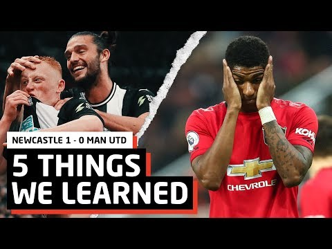 5 Things We Learned vs Newcastle | NUFC 1-0 MUFC