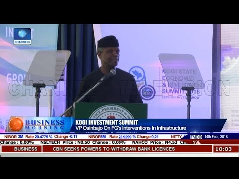 Osinbajo Describes Kogi State As 'The Essence Of Nigeria"
