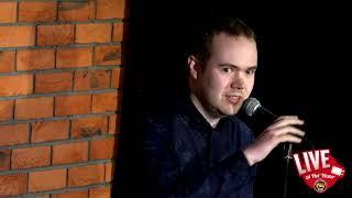 David Luck   LIVE at Hot Water Comedy Club