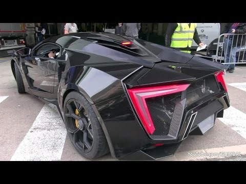 $3.4 Million Lykan HyperSport by W-Motors – driving on the road in Monaco!