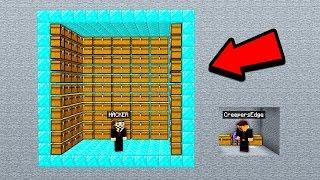I accidentally built a Minecraft Base..next to a rich HACKER base!?