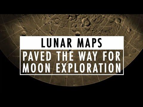 NGA lunar maps paved the way for moon exploration