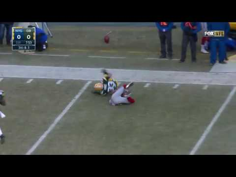 Packers vs giants  wild card highlights