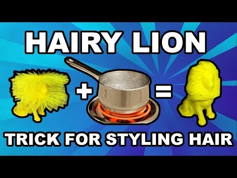 3D Print Timelapse: Hairy Lion!