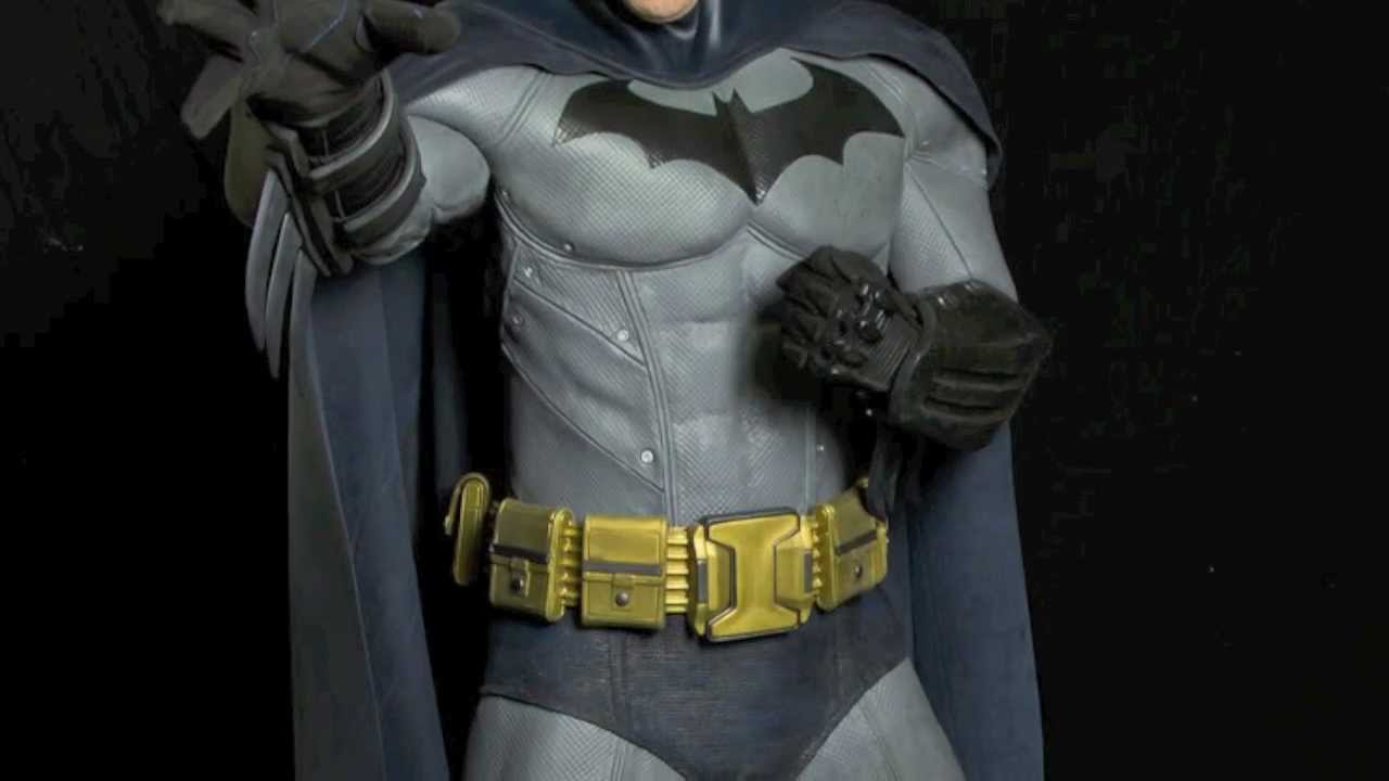 & The REAL life BATMAN Arkham City Costume - YouTube
