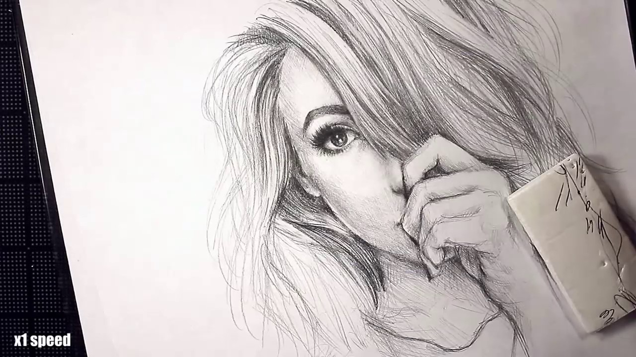 How To Draw A Realistic Female Face Step By Step?+ How To Draw Female Face  Step By Step With Pencil?