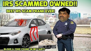 IRS SCAMMER GETS OWNED!  Blood  Coke In My Corolla! thumbnail