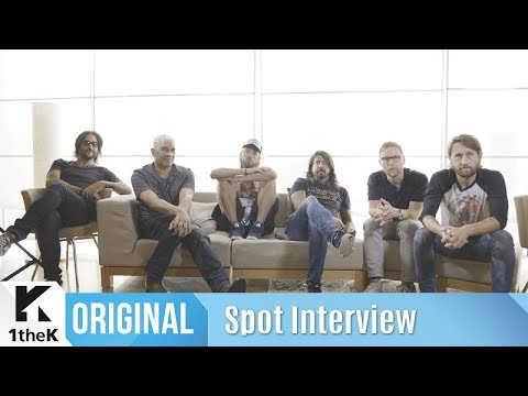 Spot Interview(좌표 인터뷰): Foo Fighters(푸파이터스) _ The Sky Is A Neighborhood