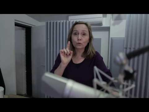 Vidéo Isabelle Miller comédienne chez STUDIOS VOA - Conseils pour bien lire à voix haute
