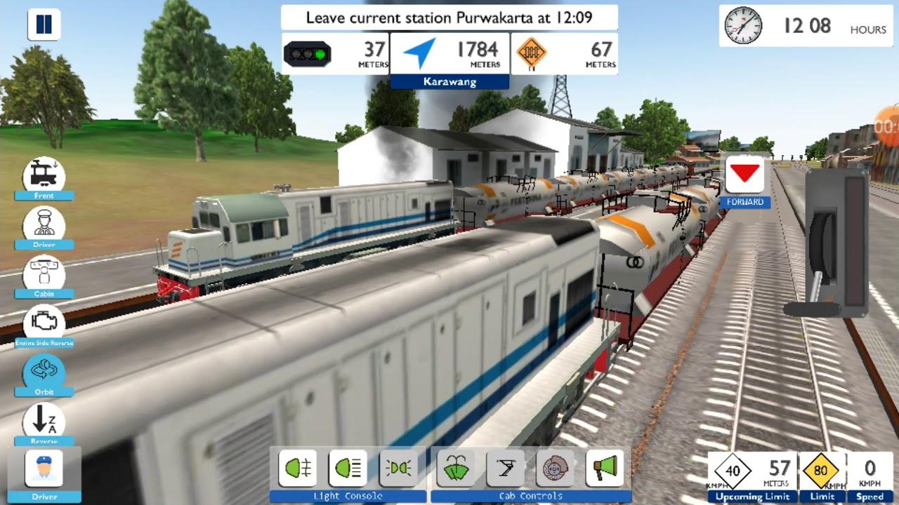 Game Kereta Simulator Indonesia