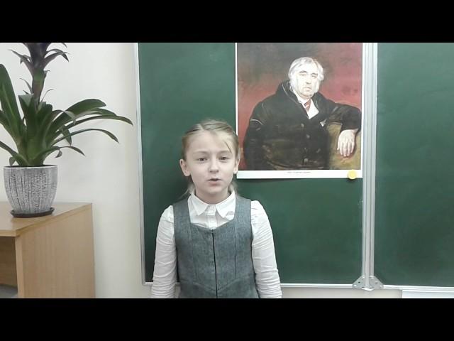 Изображение предпросмотра прочтения – МаргаритаЛизогубова читает произведение «Осёл и Соловей» И.А.Крылова