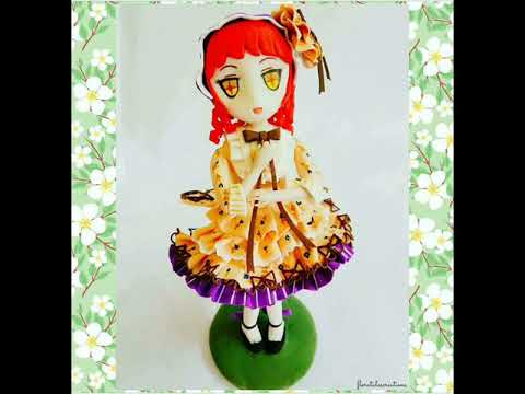 DIY Rionetta cute girl / clay Anime Chibi figures