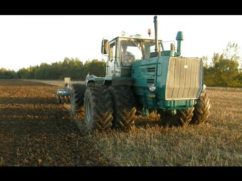T-150K + Lemken Rubin 9/400 KU cultivating