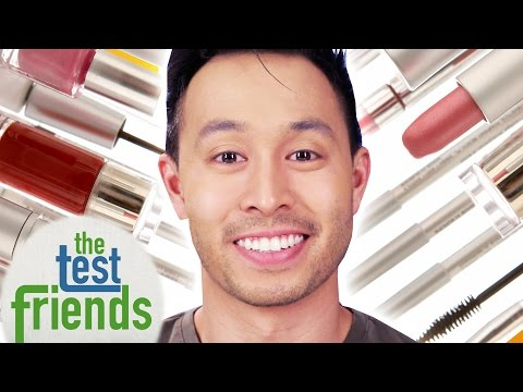 Thumbnail: Men Wear Makeup For A Week • The Test Friends