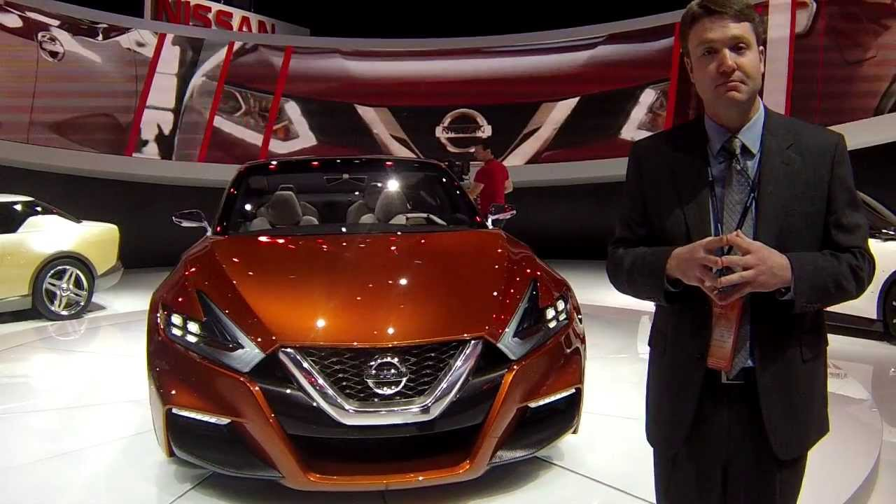 2015 Nissan Maxima >> 2015 Nissan Sport Sedan Concept (Maxima) at the 2014 NAIAS ...