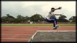 Tutorial Lompat Jauh Gaya Jongkok SMA WARGA SURAKARTA