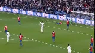 Goal Benzema gol - Real Madrid vs Viktoria Plzen 1-0 HD UCL 2018
