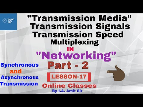Data communication | transmission modes and signals | Part -2
