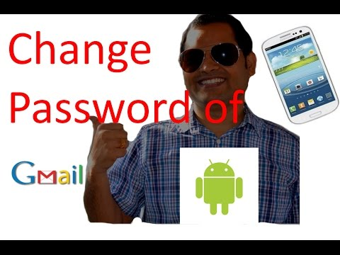 How To Change Gmail Password In Android Phone