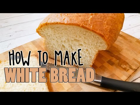 Make A Loaf Of White Sandwich Bread By Hand - A Baking Demonstration By Kookie