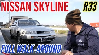 Nissan Skyline R33 GTS-4 for sale JDM EXPO