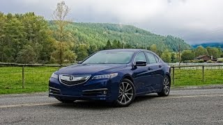 2015 Acura TLX SH-AWD Car Review