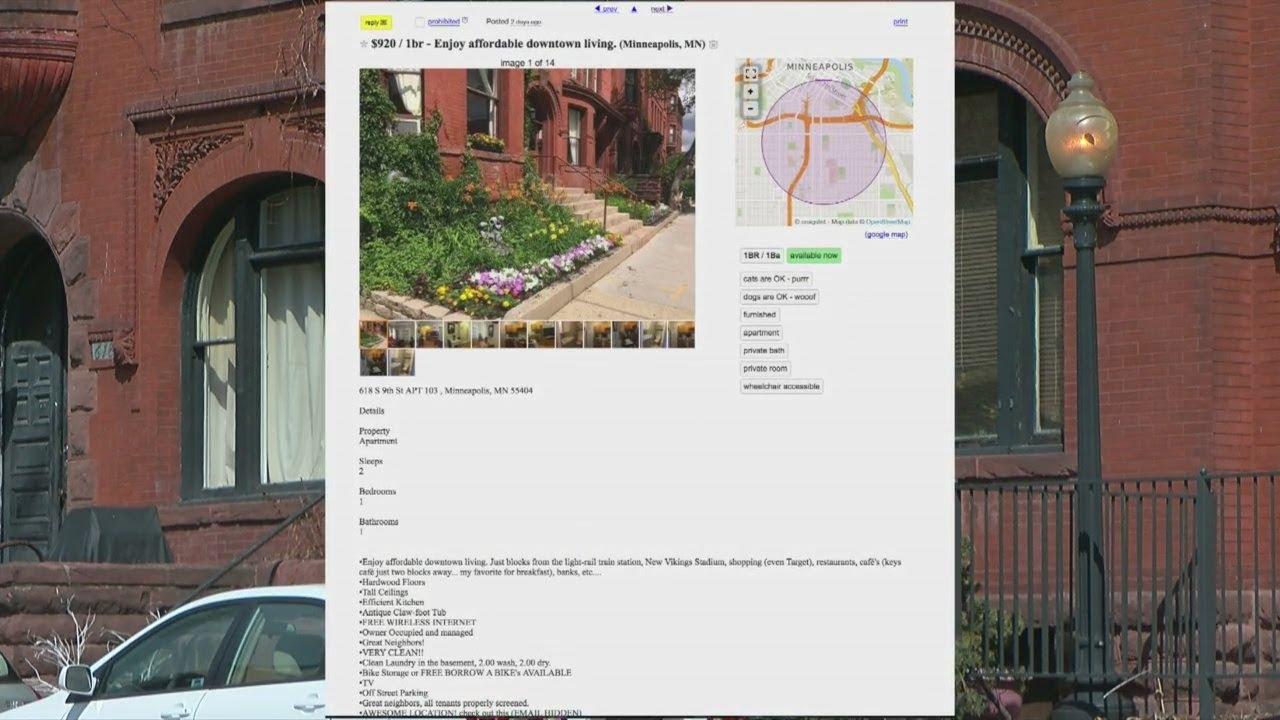 Craigslist Twin Cities >> Fake Rental Properties On Craigslist Scamming Twin Cities Renters