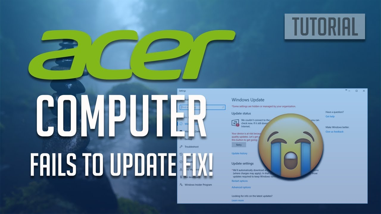 Fix Acer Computer Fails to Update Windows 10/8/7 - [3 Solutions 2019]
