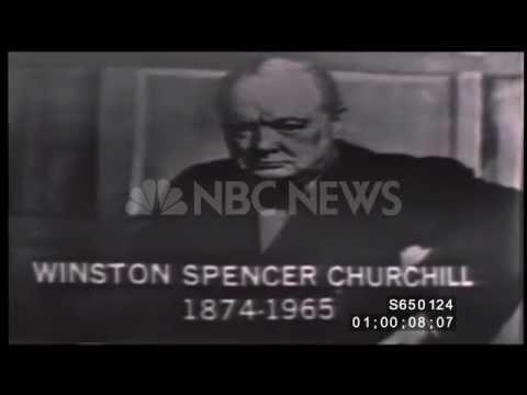 Death of Sir Winston Churchill - January 24, 1965