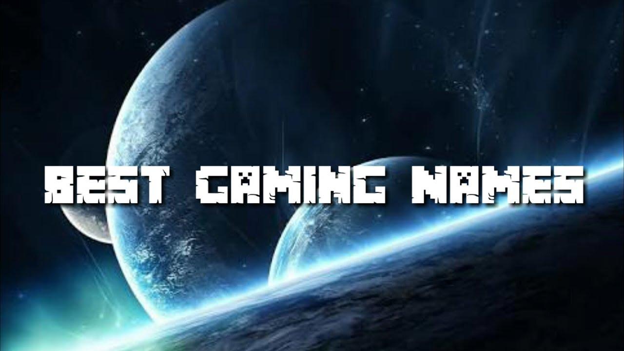 Gaming Name