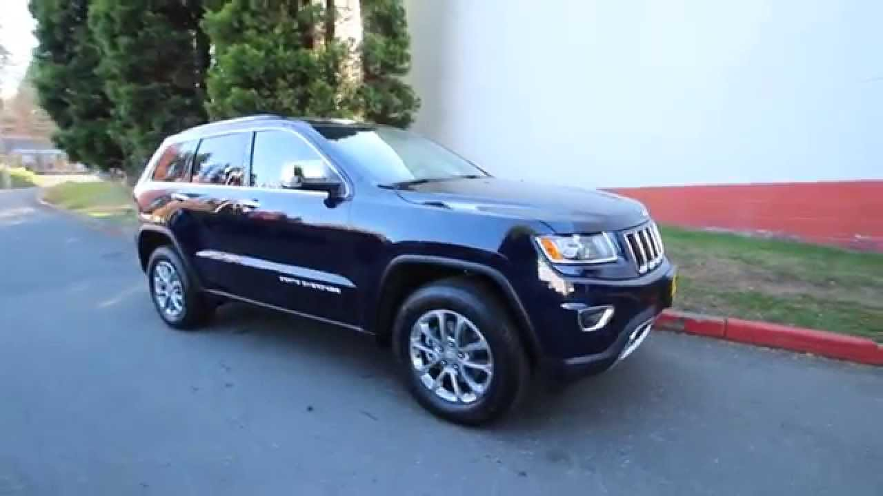2015 Jeep Grand Cherokee >> 2015 Jeep Grand Cherokee Limited | Blue | FC665120 ...
