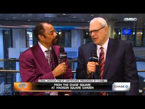 Clyde Interviews Phil Jackson