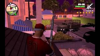 Баг в GTA: San Andreas + Как самостоятельно набрать 6 звёзд в GTA: San Andreas без читов