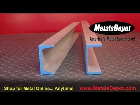 Metals Depot® - About 6061 Aluminum Channel