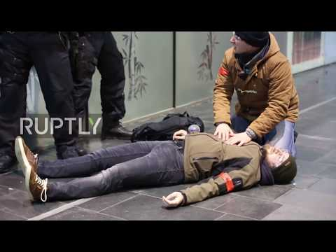 Germany: Frankfurt station hosts terror drills as police sta
