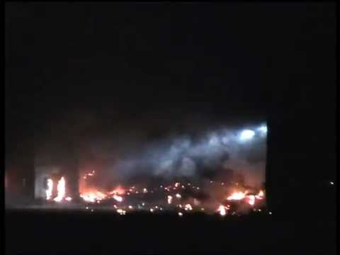 Bonds Skyfall Manor Explosion Hankley common 2 - YouTube