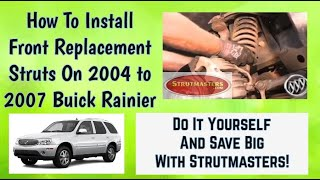How To Repair The Front Suspension On A Buick Ranier