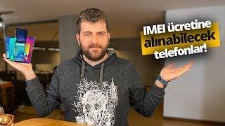 2020 IMEI ücreti ile alınabilecek telefonlar!