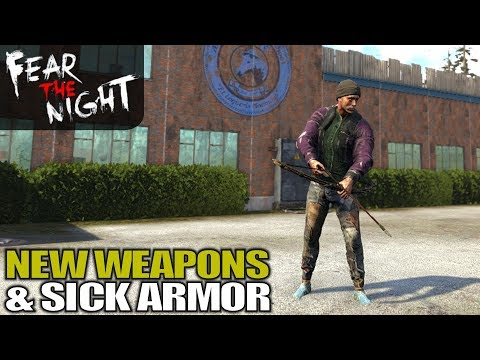 NEW WEAPONS & SICK ARMOR   Fear the Night   Let's Play Gameplay   S01E02