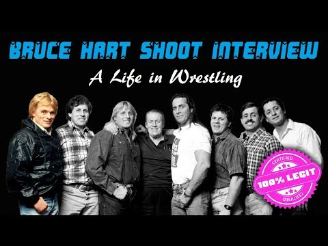 A Life in Wrestling - Bruce Hart Shoot Interview