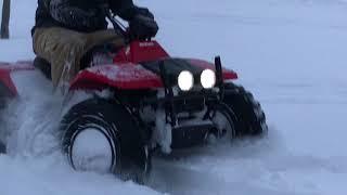 Project King Quad 300 Snow!