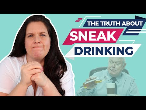 Alcohol Addiction- [The LIES people tell themselves about hiding alcohol/sneak drinking]🤥