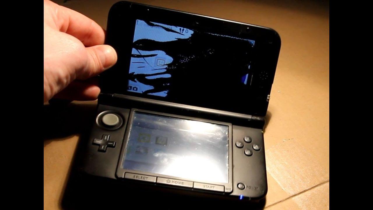 Nintendo 3ds Xl First Gen Top Screen Replacement Very