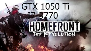 Homefront  The Revolution [PC] GeForce GTX 1050 Ti 4GB GDDR5 & Intel i7-3770