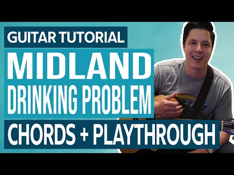 Midland – Drinkin' Problem – Guitar Lesson | Tutorial