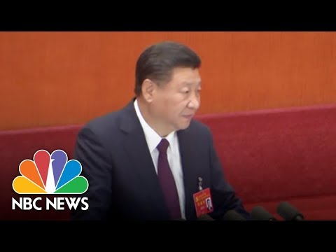 China's President Says Economic Rebirth Is Only At 'Halfway Point' | NBC News