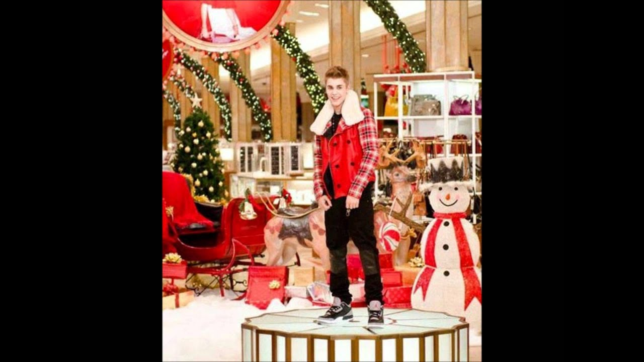 Justin Bieber All I Want for Christmas is You ft Mariah Carey ...