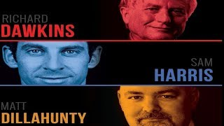 Sam Harris, Richard Dawkins & Matt Dillahunty - London UK